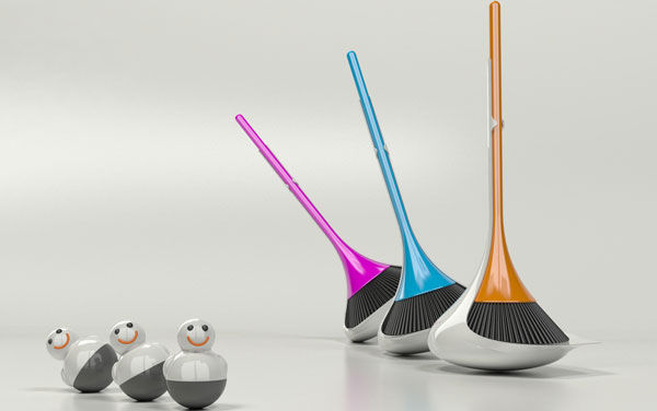 Self Stabilizing Brooms Broom Set