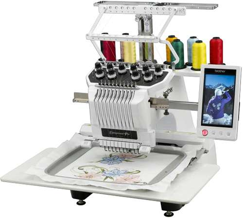 brothers home embroidery machine