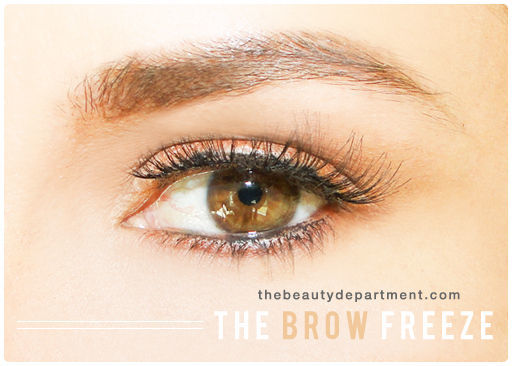 Improvisational Brow Cosmetics