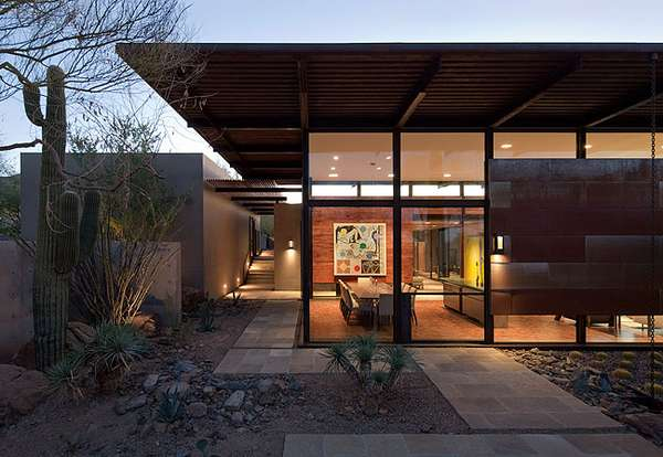 Sweeping Desert Dwellings