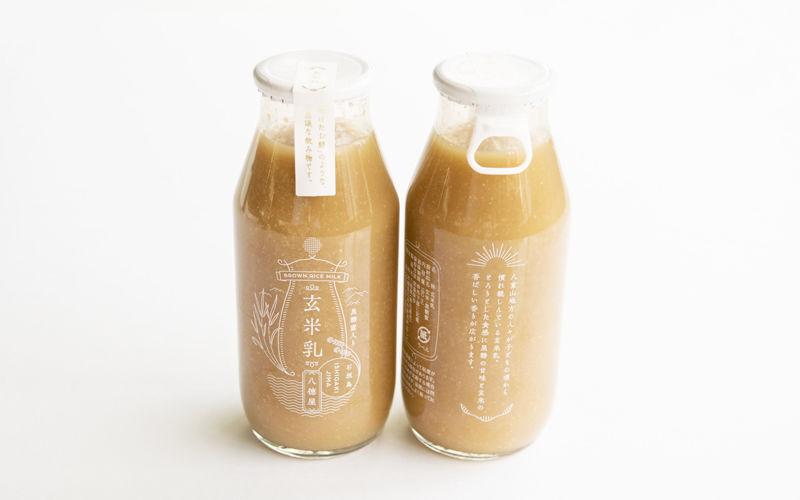 Brown Rice Milk Packaging