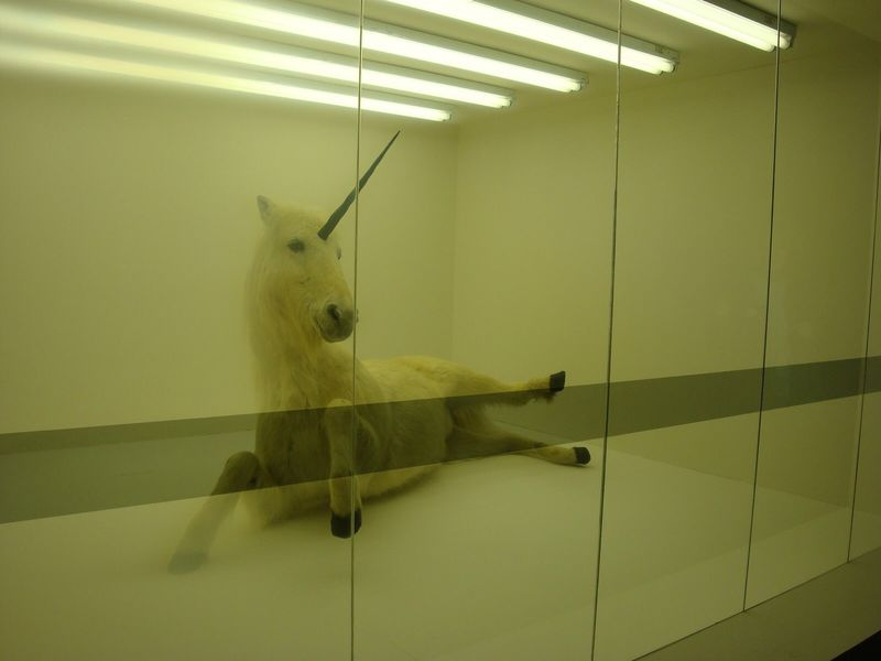 Caged Unicorn Depictions