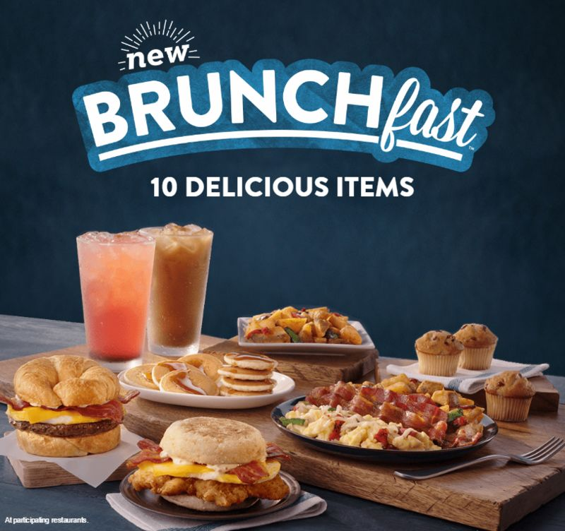 Fast Food Brunch Menus