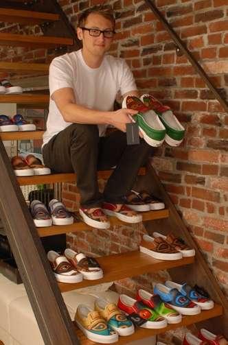 Charitable Art Shoes
