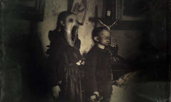 Disturbing Demonic Photography