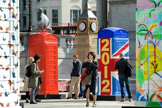 Artfully Redesigned Phone Booths