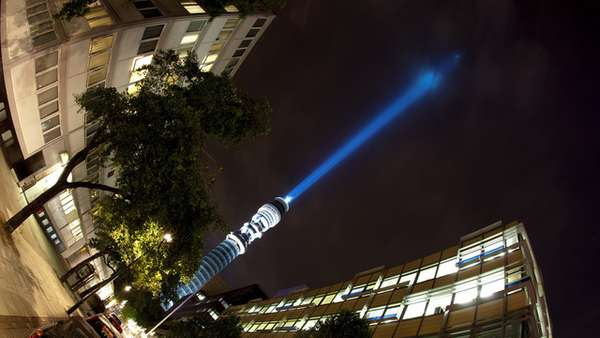 BT Tower Lightsaber