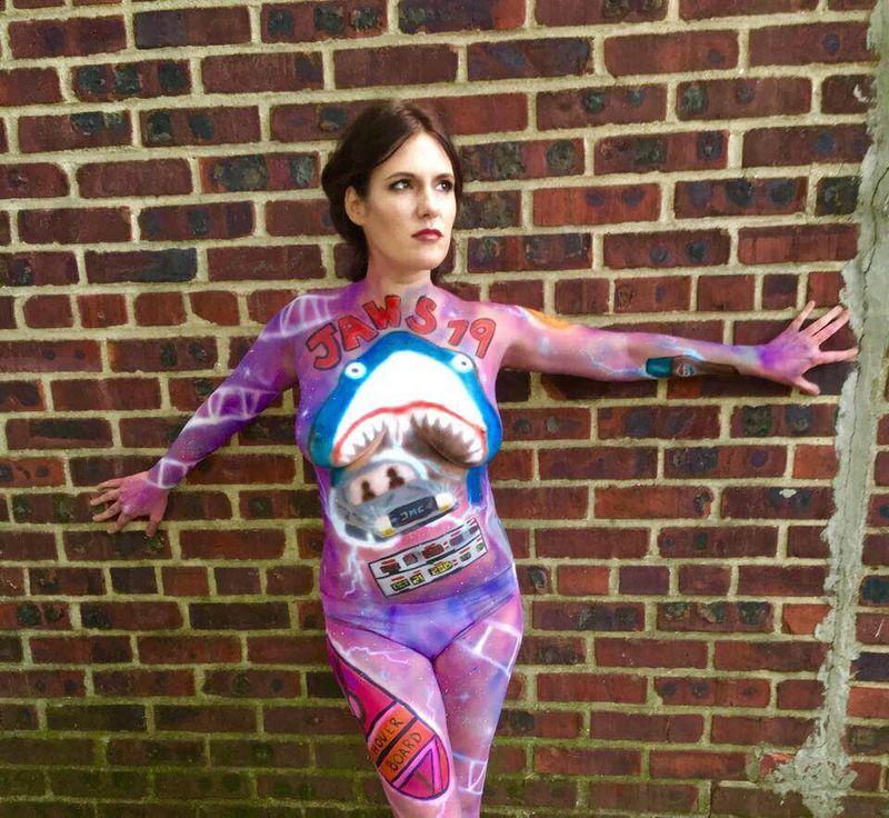 Sci-Fi Body Art