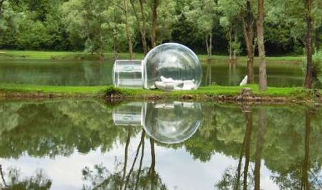 Transparent Igloos