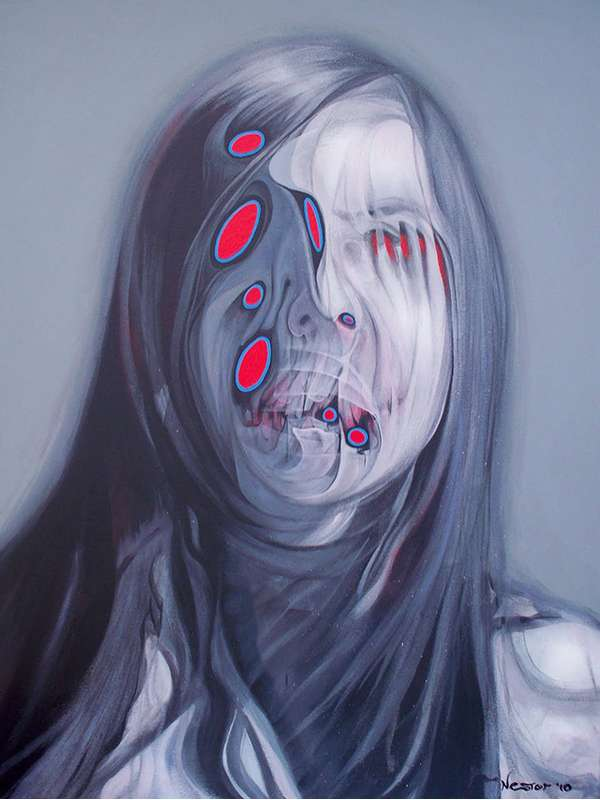 Creepy Female Portraits