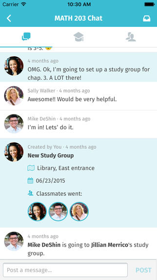 Social Studying Apps