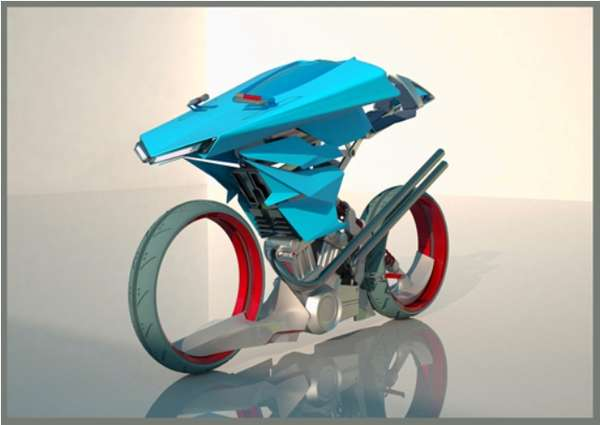 Sustainable Sci-Fi Bikes