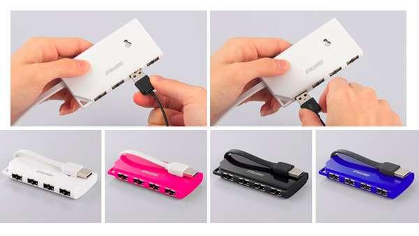 Orient-Less USB Ports