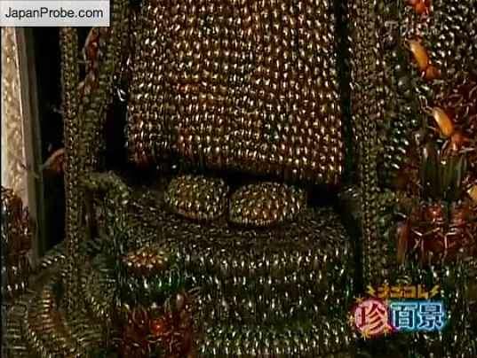 Bug Buddha Sculptures