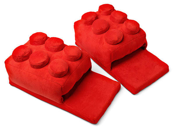 LEGO-Like Slippers