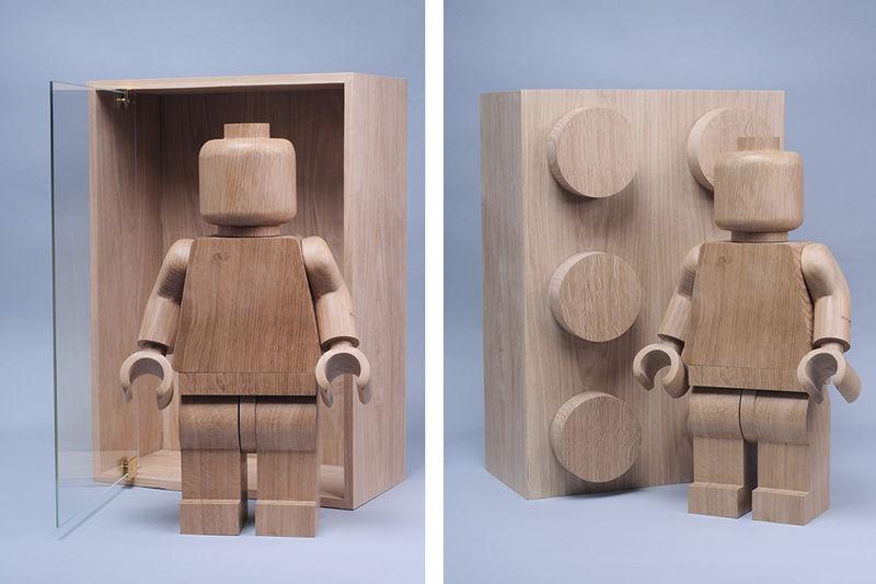 Wooden LEGO Figurines