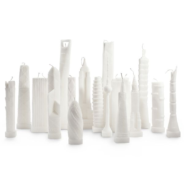 Architectural Skyline Candles