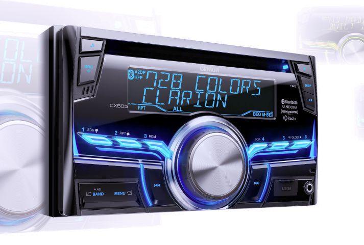 Built-in HD Radios