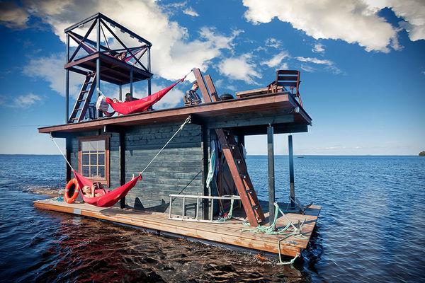 DIY Spa-Inspired Rafts