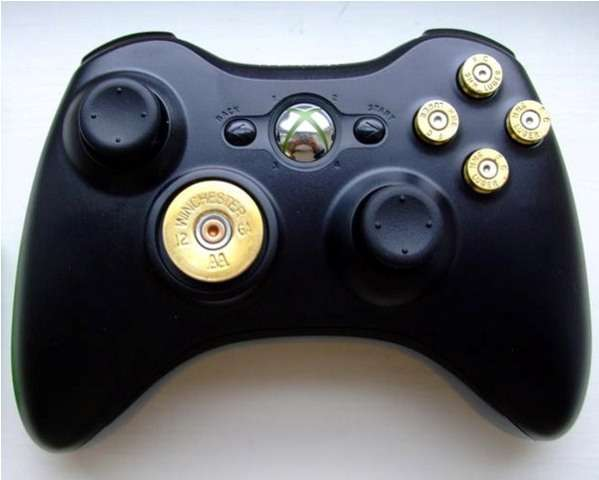 Bullet-Riddled Controller Mods