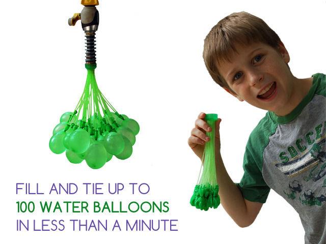 Water Balloon-Filling Shortcuts