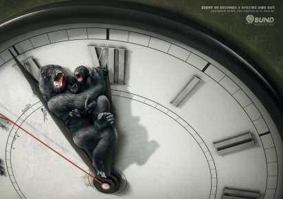 Animal-Killing Clock Ads