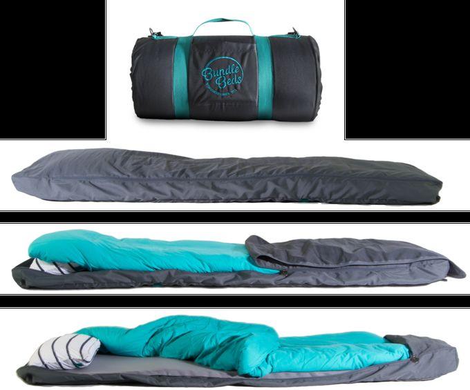 Self Inflating Sleeping Bags Bundle Bed