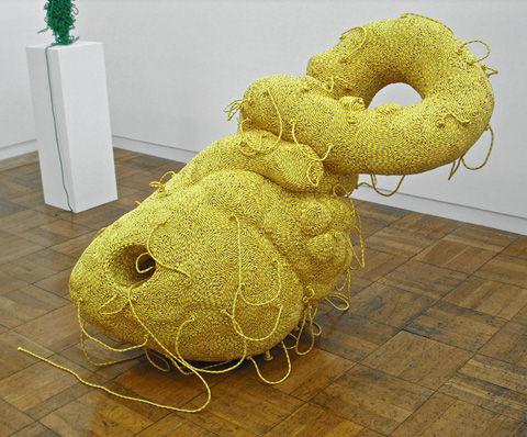Bizarre Bungee Cord Sculptures