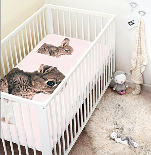 Realistic Rabbit Bedding Bunny Bed Sheets