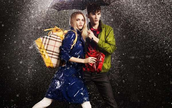 Burberry April Showers 2011 Campaign