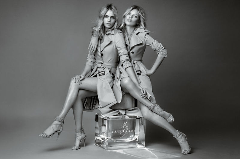 Dual Celebrity Perfume Campaigns