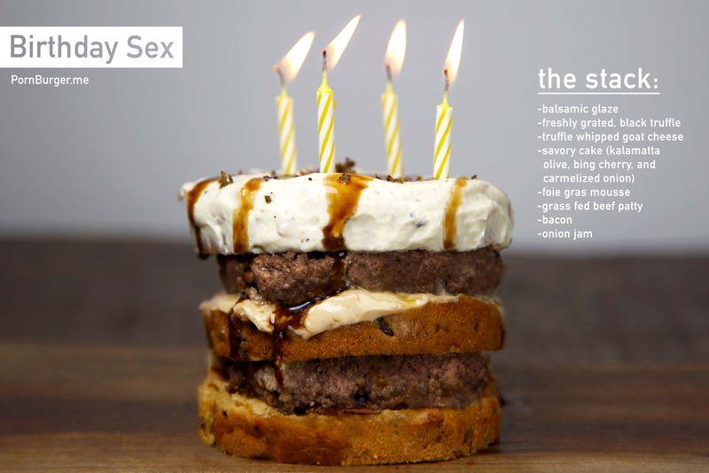 Luxurious Birthday Burgers