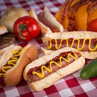 Burger-Inspired Hot Dogs