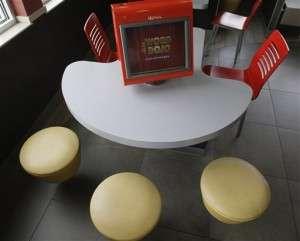 Electronic Fast Food Menus