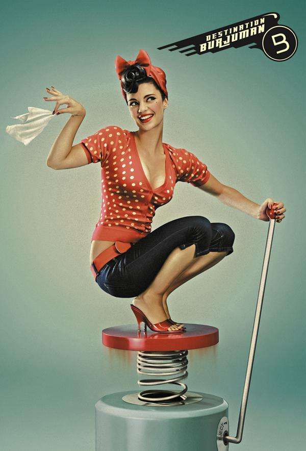 Nifty 50s-Inspired Ads
