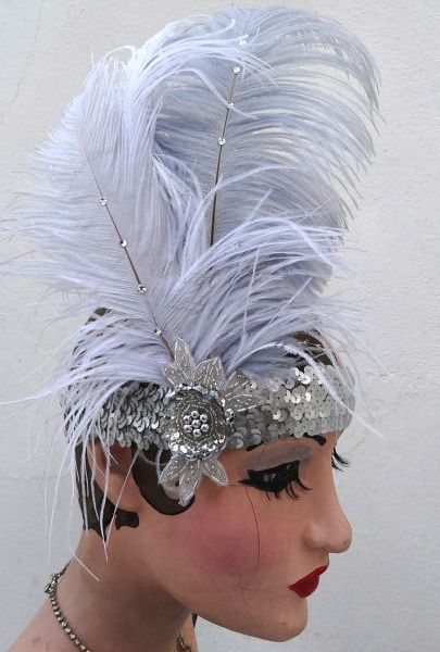 burlesque feather headdress