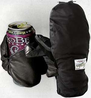 Beer-Drinking Gloves