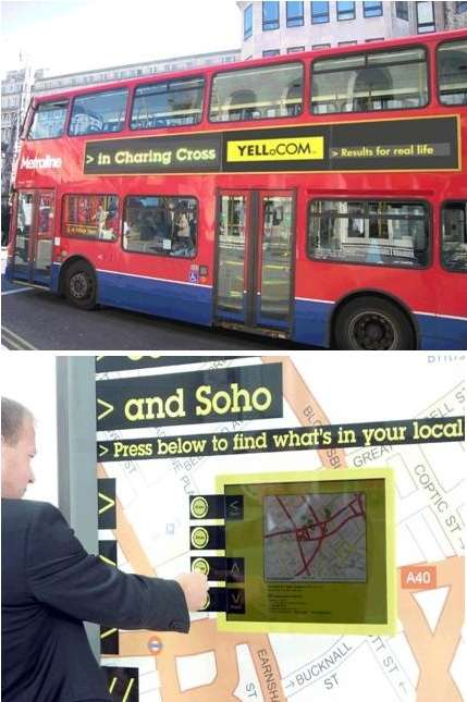Bus Ads That Change Based on GPS Location