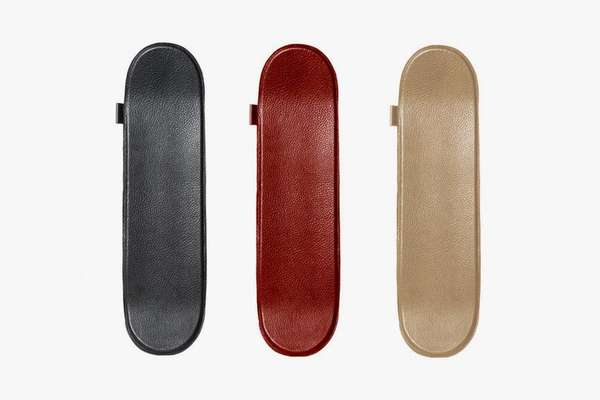 Buscemi Leather Skateboard