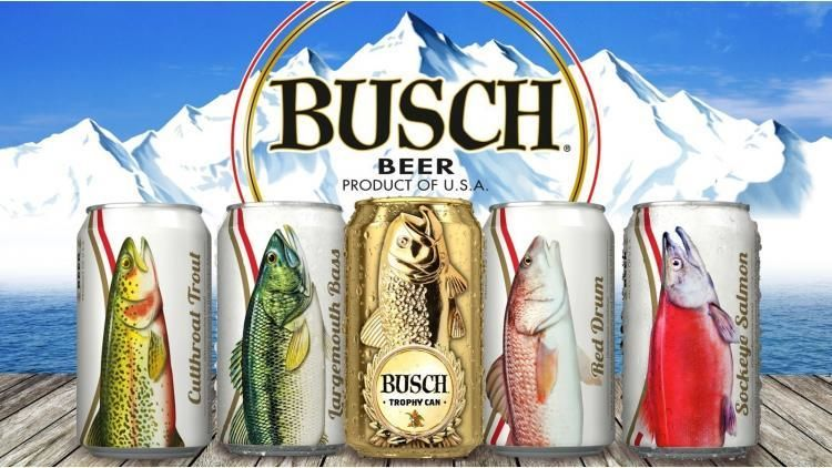 Fishy Beer Cans