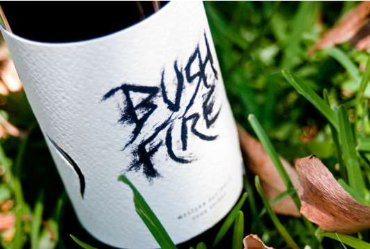Bush Fire Wine Packaging