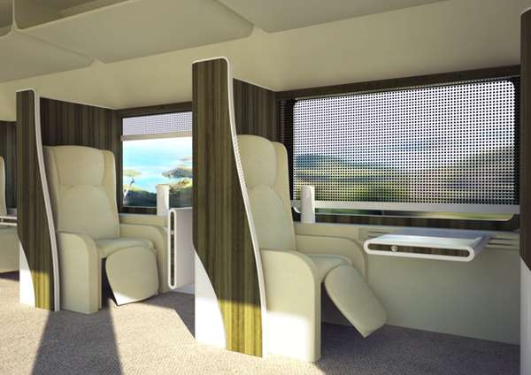 Business Class Train