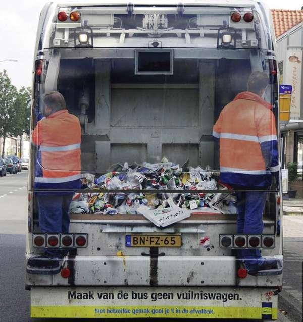 Busvertising for Cleanliness