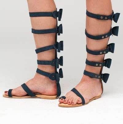 Bow-Tie Gladiator Footwear