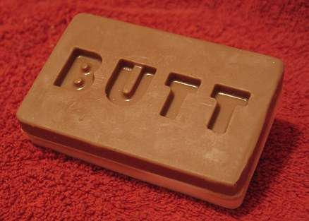 Butt-Face Soap