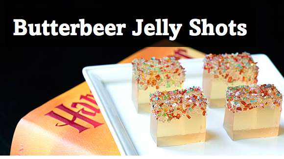 the butterbeer jelly shot wands are magically delicious full article