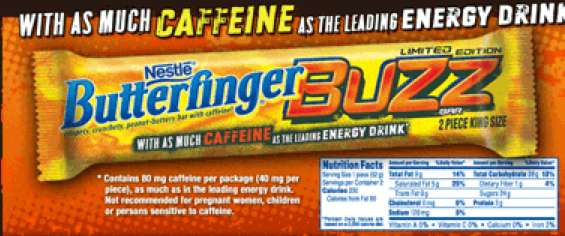 Butterfinger Buzz Bar