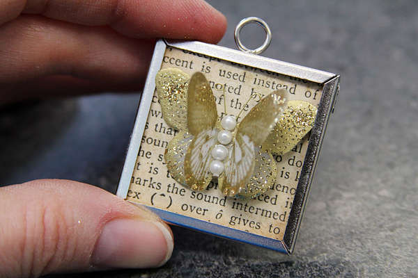 DIY Fluttery Framed Jewelry