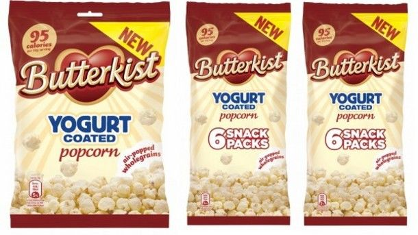 Yogurt-Covered Butter Popcorn