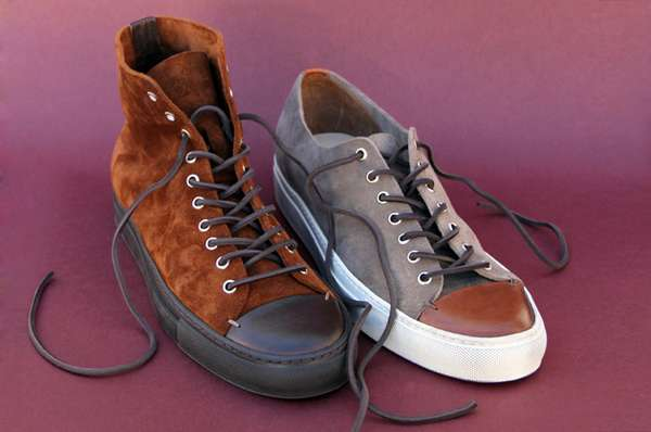 Sleek Suede High-Tops